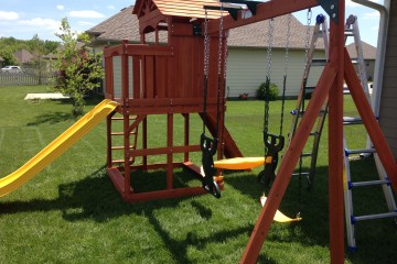 Swing Sets & Forts