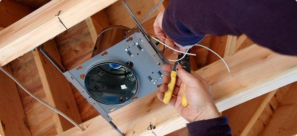 install lighting fixture. Install Can Lights Lighting Fixture