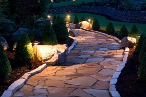 Outdoor lighting install